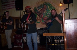 Sitting in with Walt and Hannes on 1/15/09